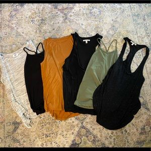 Bundle of 6 Tank Tops Express, Old Navy, A New Day